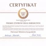 PCUD Doradztwo Podatkowe uzyskało certyfikat Solidna Marka 2013